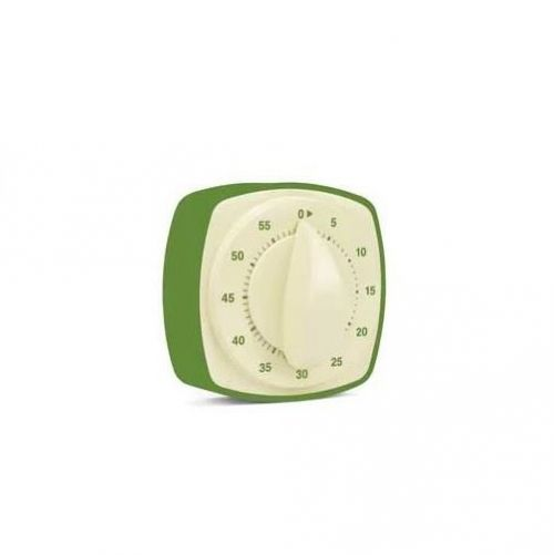 Retro kitchen timer green