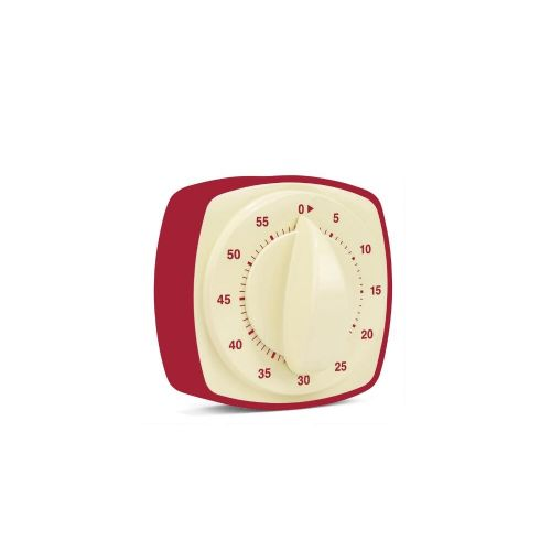 Retro kitchen timer red
