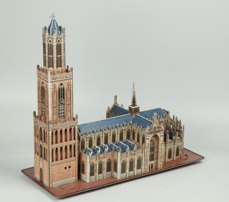 3D gebouw de Utrechtse Dom