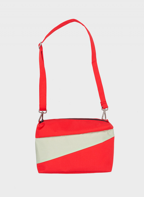Bum bag redlight & pistachio M