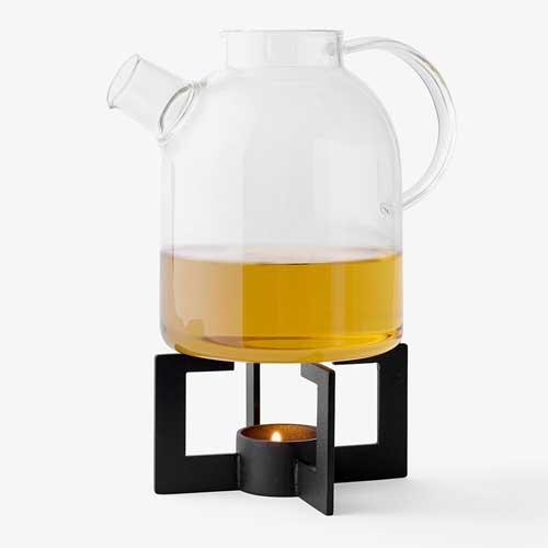Menu Cast Tea Heater Black