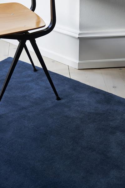 Raw Rug NO2 80 x 200 cm Midnight blue