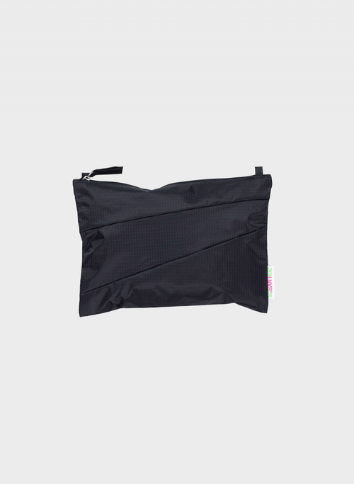 Pouch black & back M
