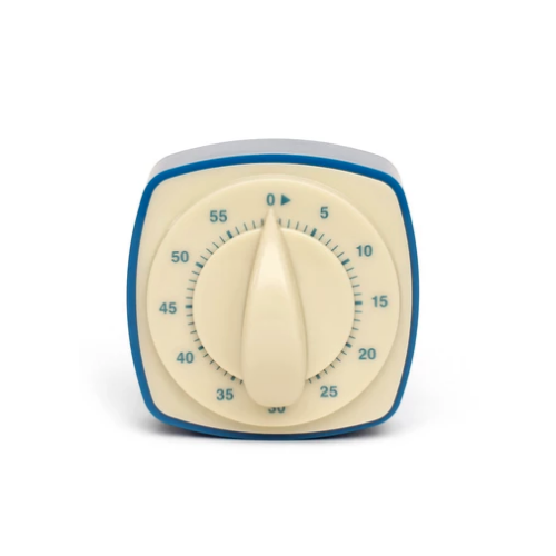 Retro kitchen timer blue