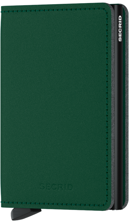 Slim wallet yard green