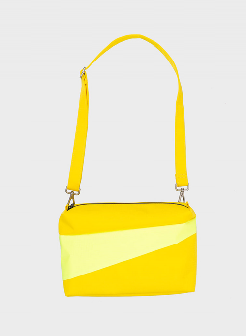 Bum bag TV yellow & fluo yellow M