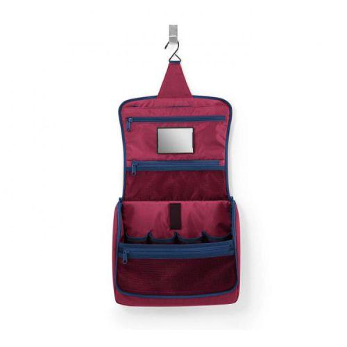 Toiletbag XL dark ruby