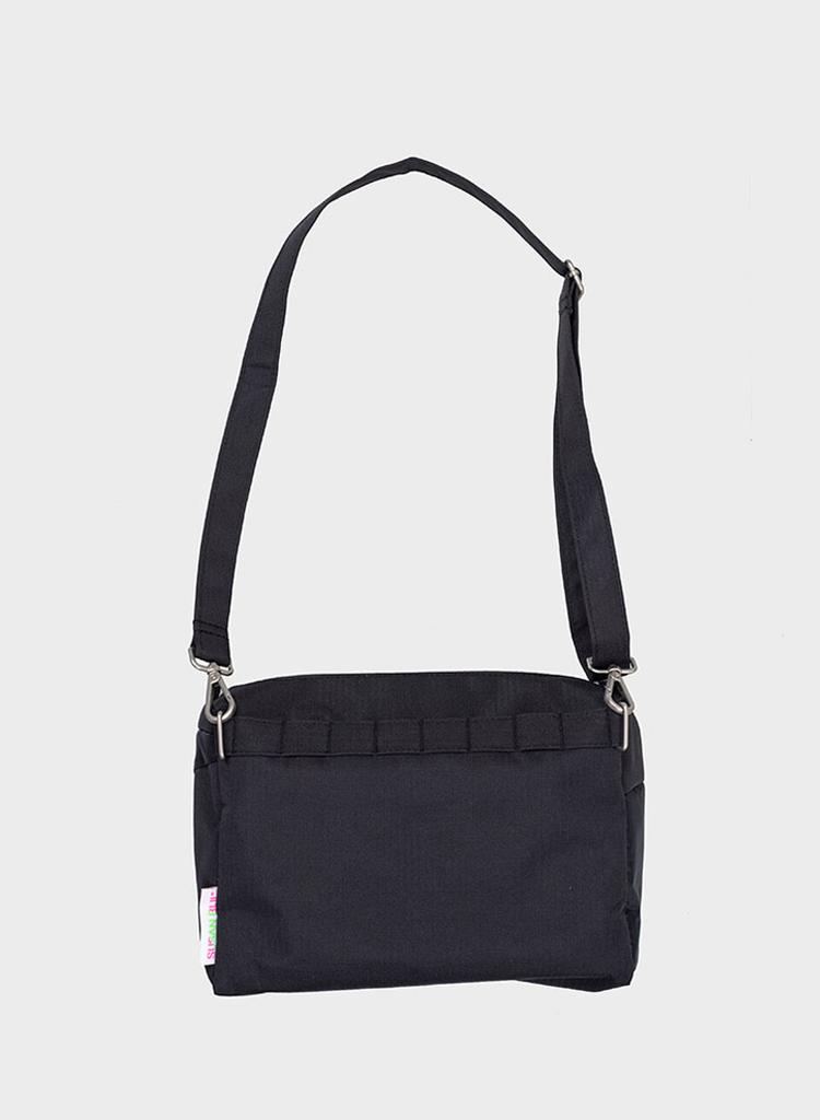 Bum bag black & black S