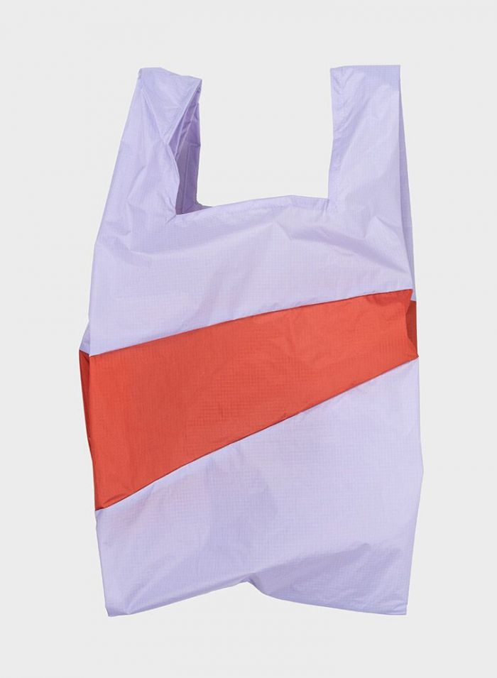 Shoppingbag 2012 lavender & rust S