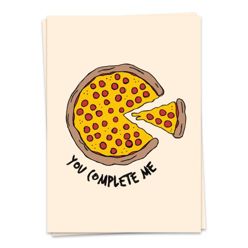 Foodie - you complete me