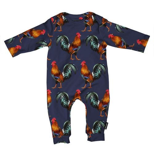 Jumpsuit rooster maat 56