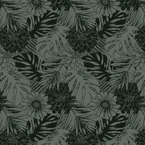 Tafelzeil lush forest groen