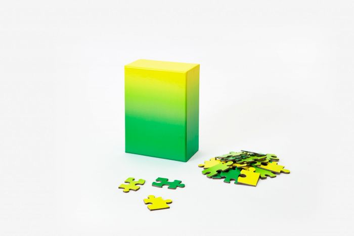 Puzzle gradient green/yellow