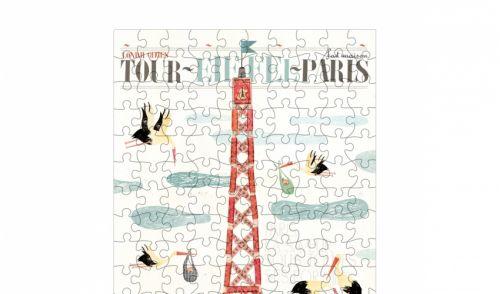 Micro puzzle visit paris