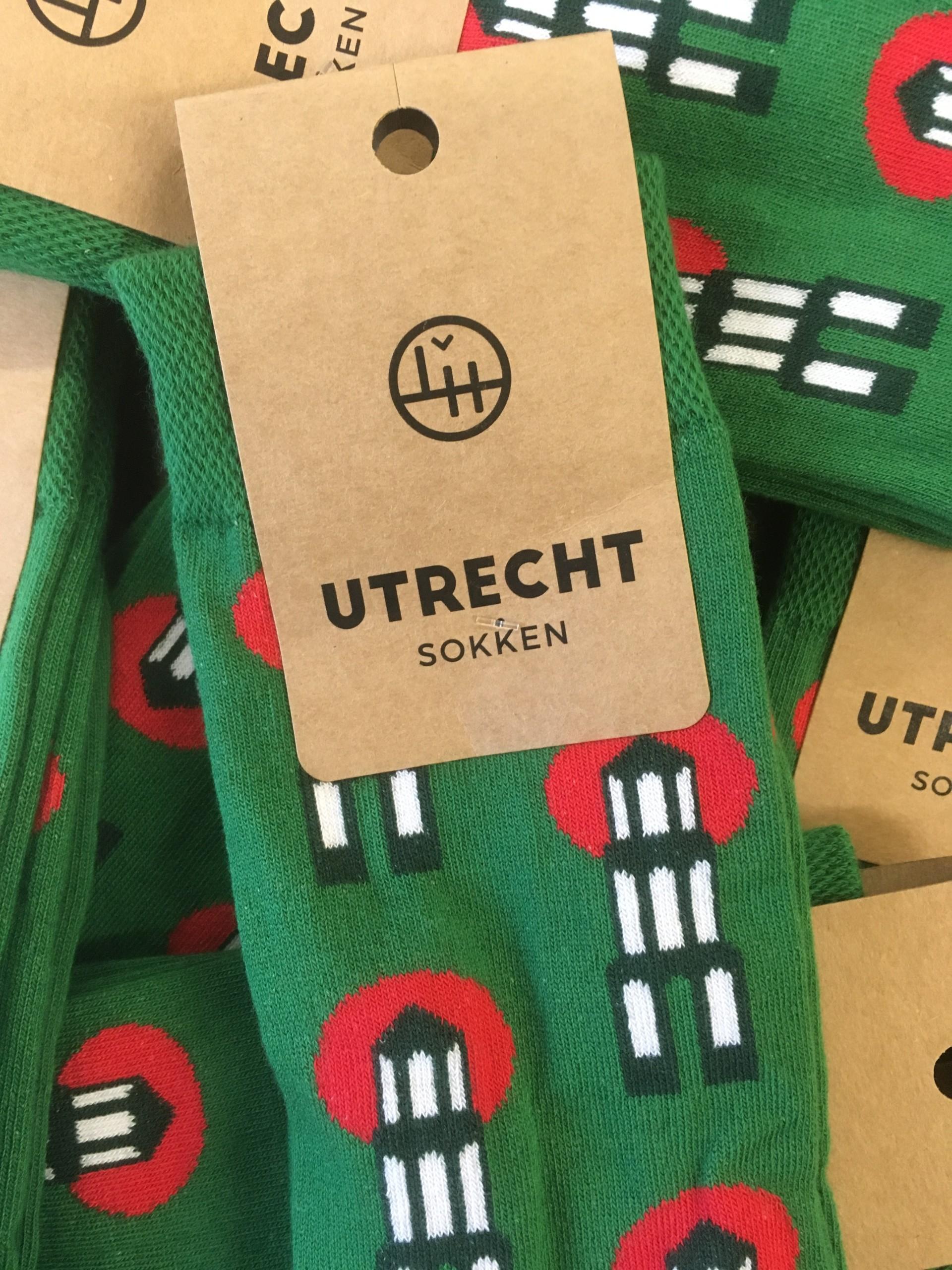 Utrechtse sokken groen 35-38
