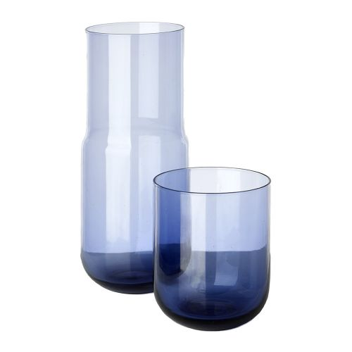 Jug and glass purple