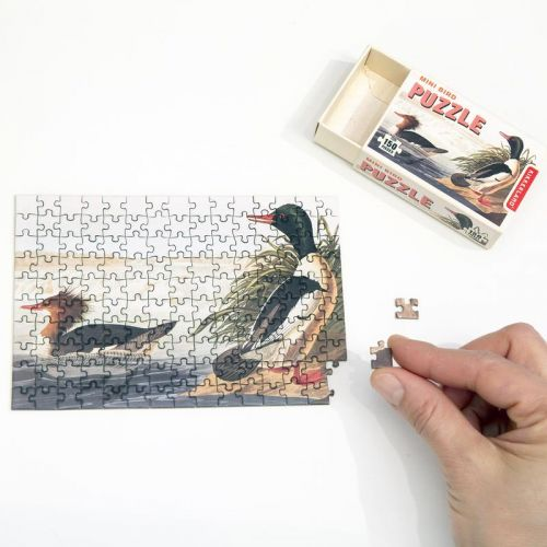 Mini bird puzzels