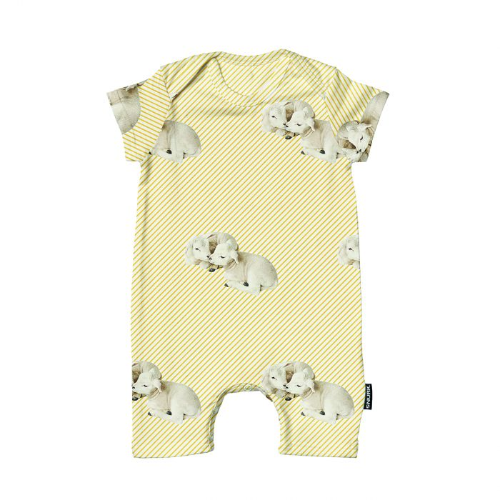 Playsuit little lambs 68