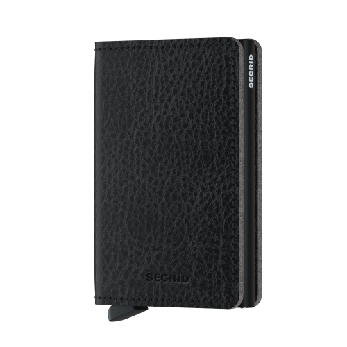 Slim wallet veg black
