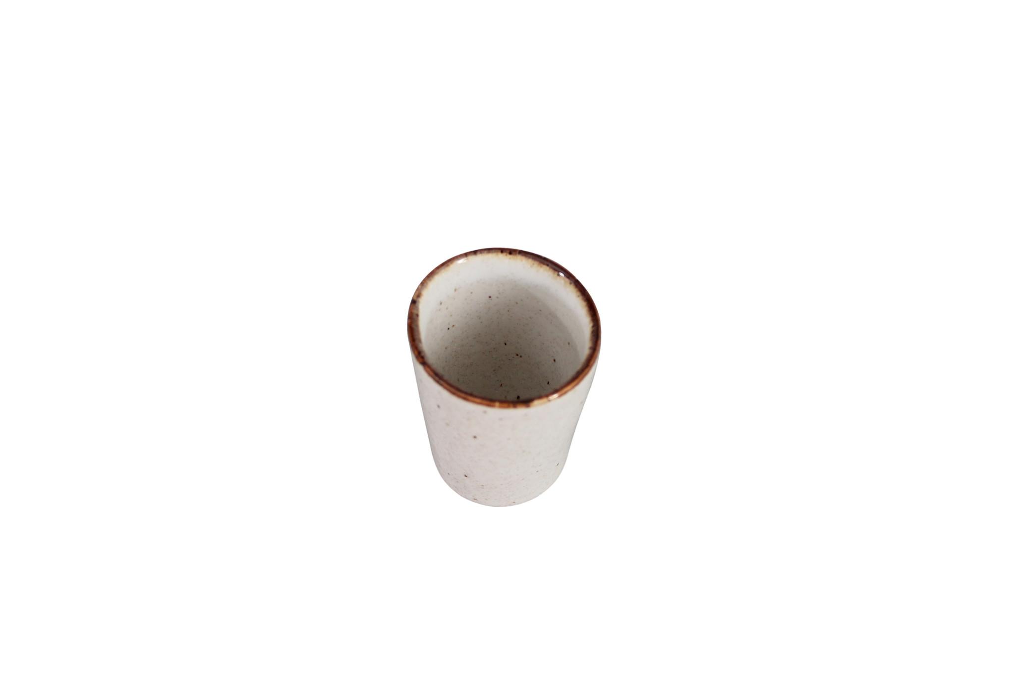 Espresso mok stone creme