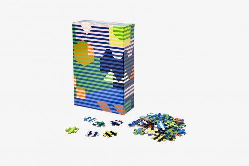 Puzzle pattern Lenticular