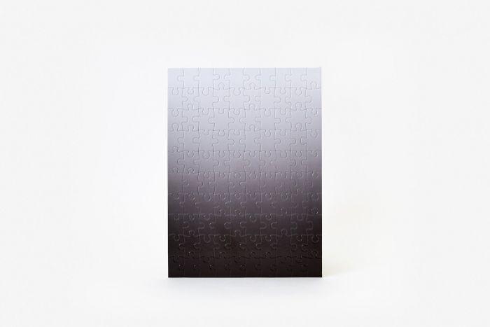Puzzle gradient black/white small