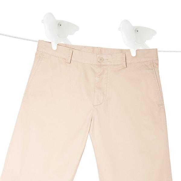 Clothes peg birdie white