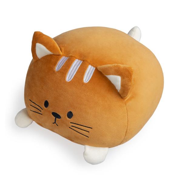 Cushion kitty brown