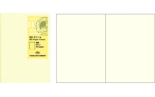 Midori refill passport size 013 paper cream