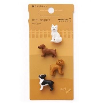 Mini magnet dog