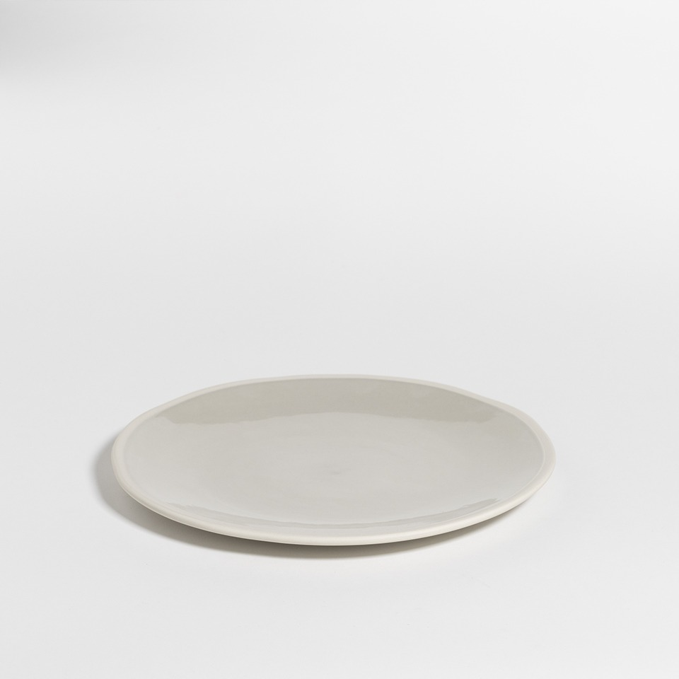 atelier - large plate mushroom