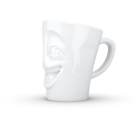 Mug with handle joking