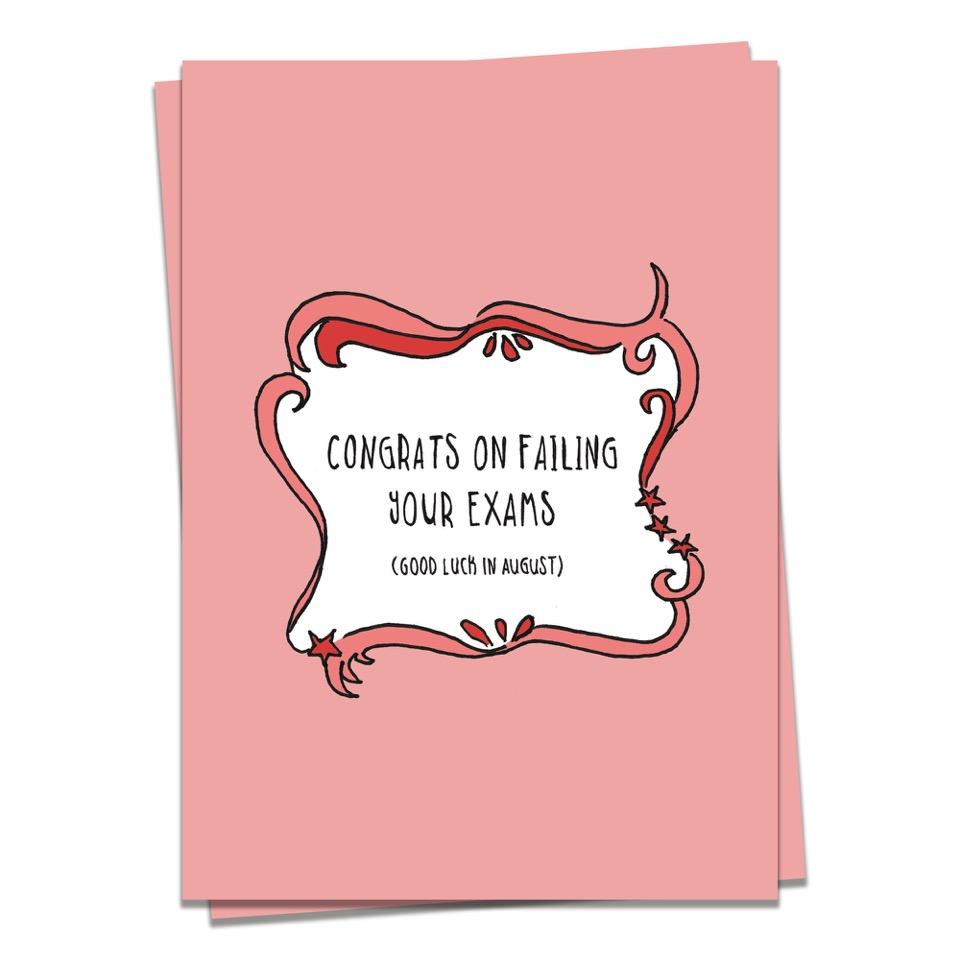 Exams - failed exams