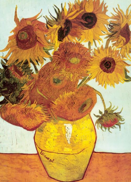 Puzzel - Vincent van Gogh, twelve sunflowers