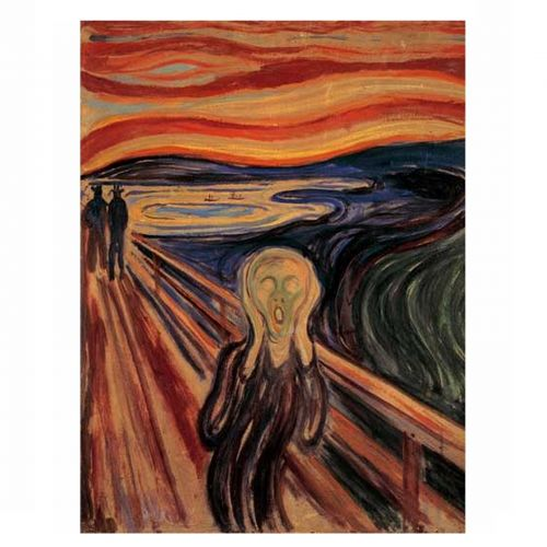 The Scream - Edvard Munch 1000 stukjes
