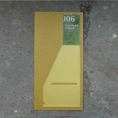 Midori refill 006 pocket sticker L