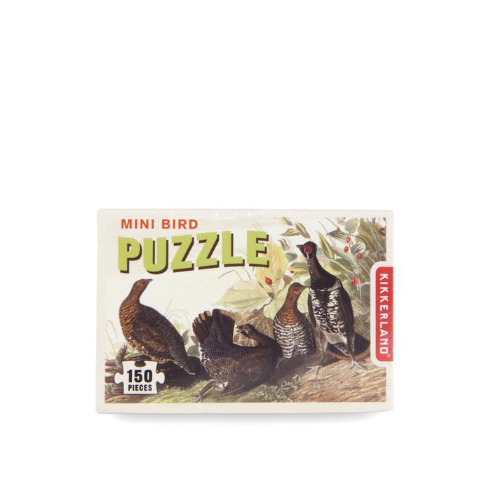 Mini bird puzzle fazanten