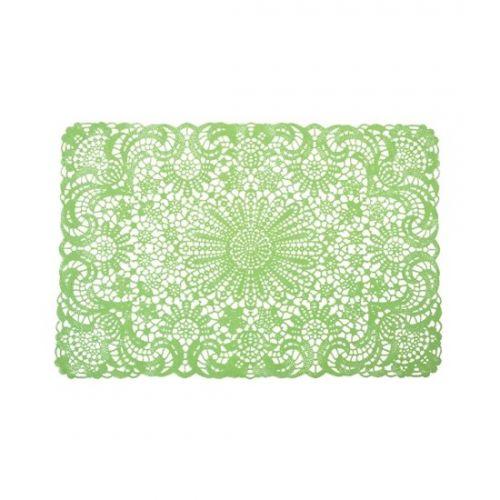 Placemat crochet green