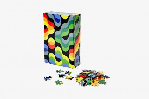 Puzzle pattern arc