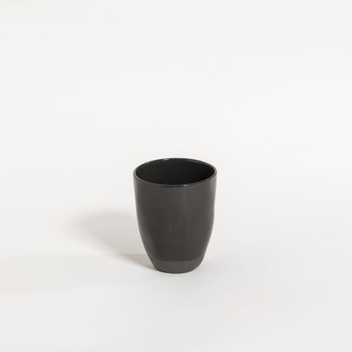 atelier - mug (no handle) black olive