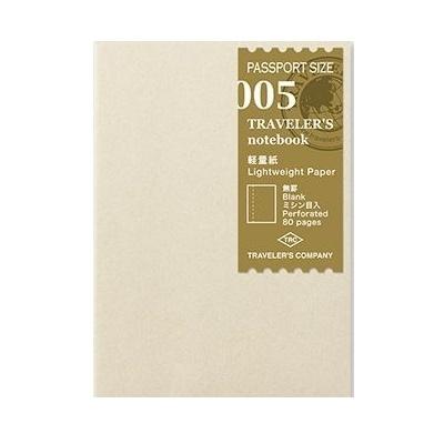 Midori passport size refill 005 lightweight