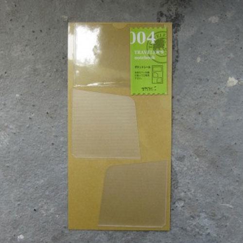 Midori refill 004 pocket stickers