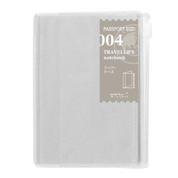 Midori passport refill 004 zipper pocket