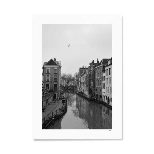 Utrecht Oudegracht 40X50 foto