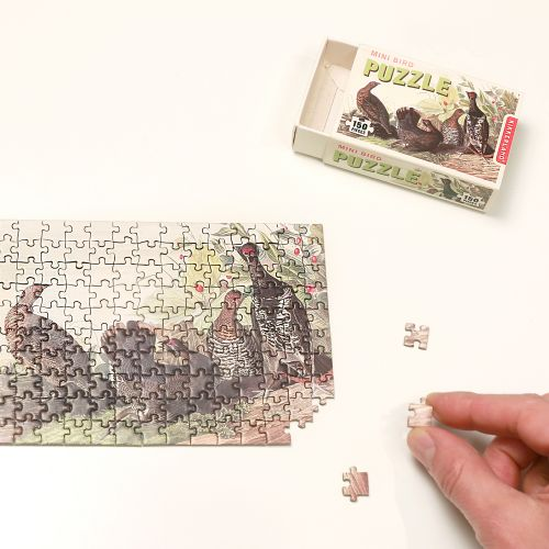 Mini bird puzzle fazanten