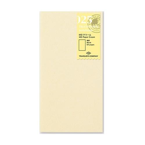 Midori refill 025 paper cream