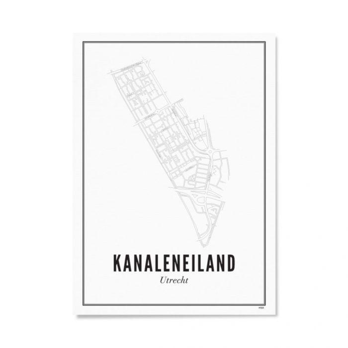 Utrecht Kanaleneiland 30x40