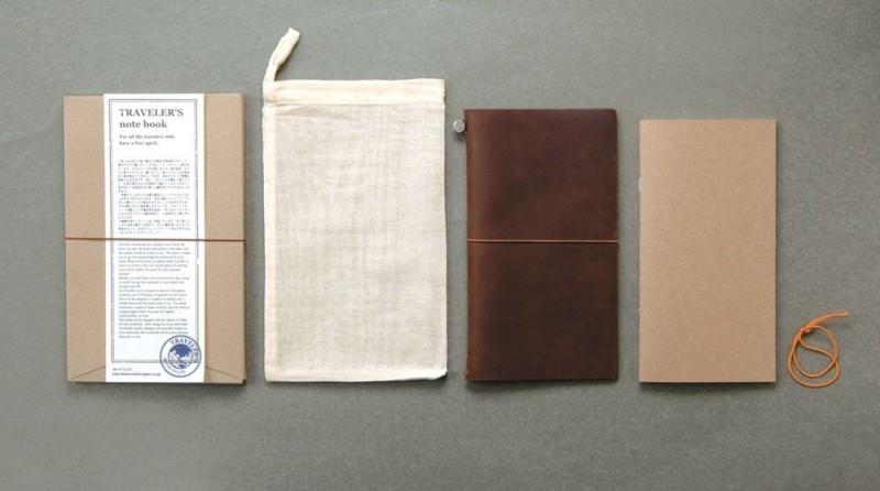 Midori traveller's notebook regular brown