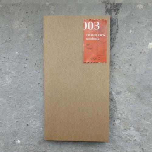 Midori refill 003 blanco paper