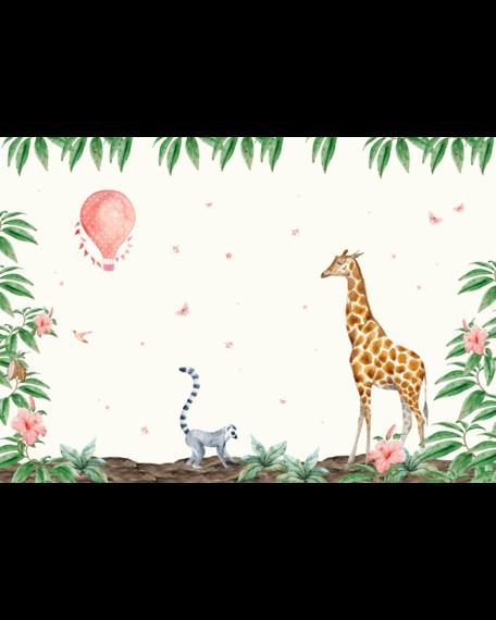 Behang Giraf 4 X 2,8 meter